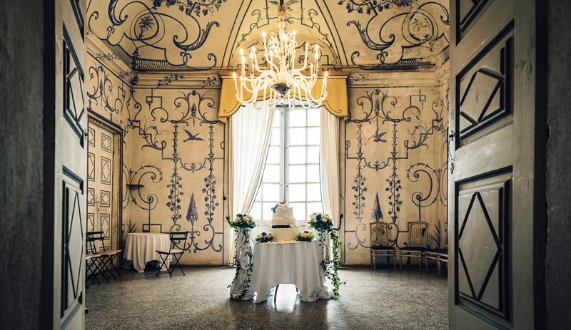 davide posenato fotografo matrimonio matrimonio al castello san giorgio torino mary massimo torta