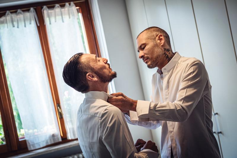 davide posenato fotografo matrimonio torino daniele alberto vestizione