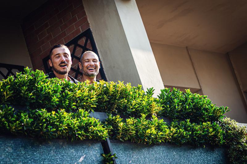 davide posenato fotografo matrimonio torino daniele alberto balcone